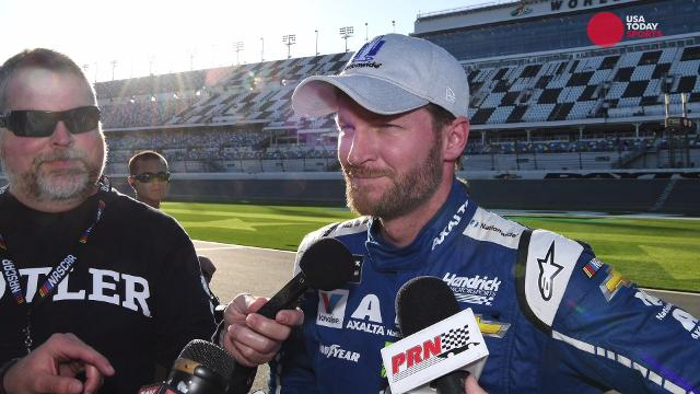 Dale Earnhardt Jr. returns to the track