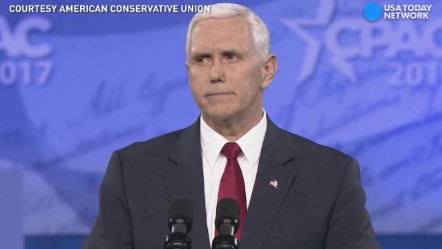 Vice President Mike Pence delivered a speech at CPAC, saying President Trump and his administration will deliver on promises made during the campaign.