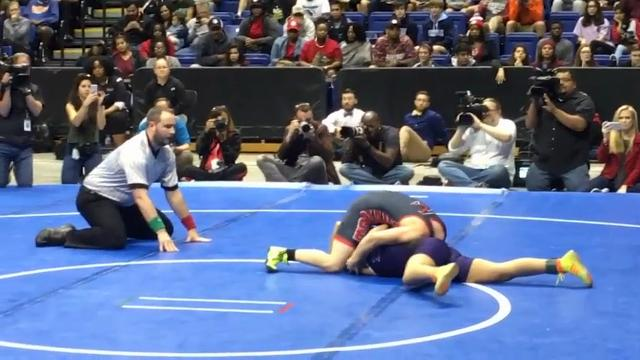 Transgender Boy Wins TX Girls Wrestling Title