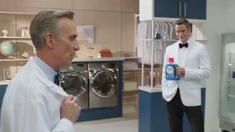 Persil's new Super Bowl commercial features famous scientist Bill Nye.