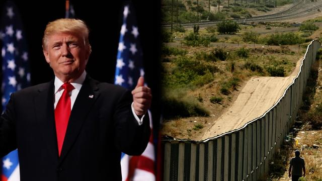 """U.S. Customs and Border Protection says it's almost ready to accept """"prototype wall structure"""" designs for Trump's project at the U.S.-Mexico border. Video provided by Newsy"""