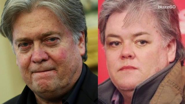 Rosie O'Donnell just won the internet after she changed her avatar to a pic of her as Steve Bannon. Jose Sepulveda (@josesepulveda87) has more.