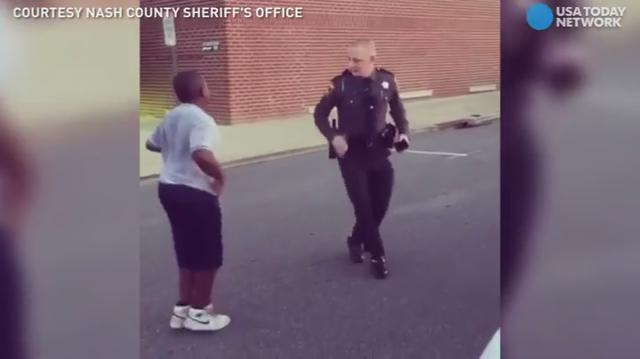 A North Carolina deputy was challenged to a dance off, and his moves did not disappoint.