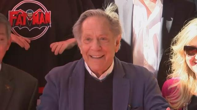 George Segal celebrates 83rd with Hollywood star
