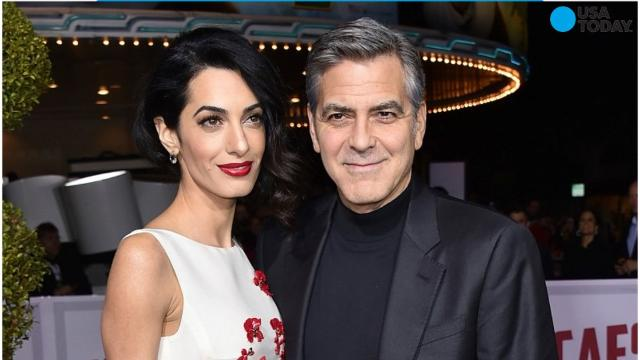 News broke that George and Amal Clooney were expecting twins. And now, George's mother, Nina, let it slip that Amal is due in June, and is expecting a boy and a girl.