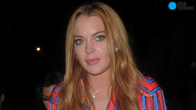 Lindsay Lohan has posted a photo on Instagram of her and 'The Little Mermaid' character Ariel side-by-side. 30-year-old Lohan has publicly said before that she would love the starring role in a live action version of 'The Little Mermaid' -- if Disney's rolling out a live version.