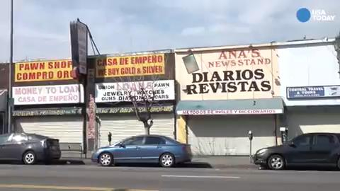 In Los Angeles, closed shops for 'Day without Immigrants'