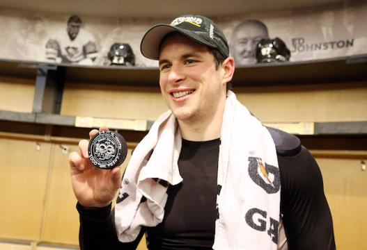 Here's a look at Sidney Crosby's career numbers after he reached the 1,000-point milestone.