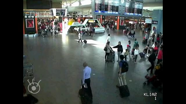 Raw: Airport Video Shows Kim Brother Attack