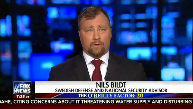 """Bill O'Reilly introduced Nils Bildt as """"a Swedish defense and national security adviser,"""" but the Swedish government said they're not familiar with him. Matt Hoffman reports."""
