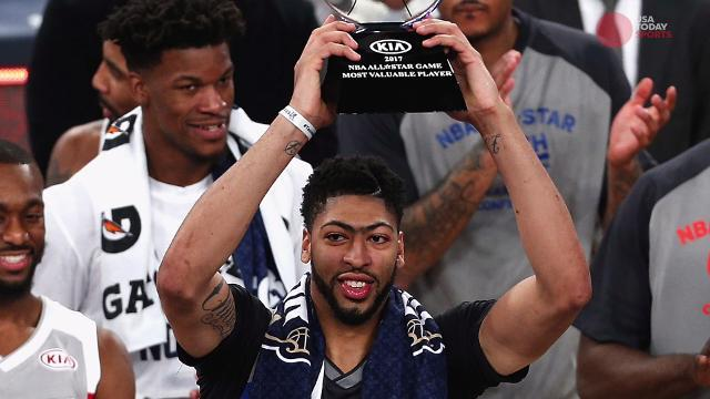 Anthony Davis wins All-Star Game MVP on home court