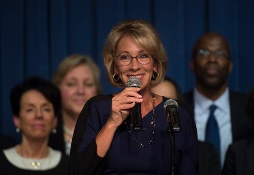 DeVos calls her confirmation process 'a bit of a bear'