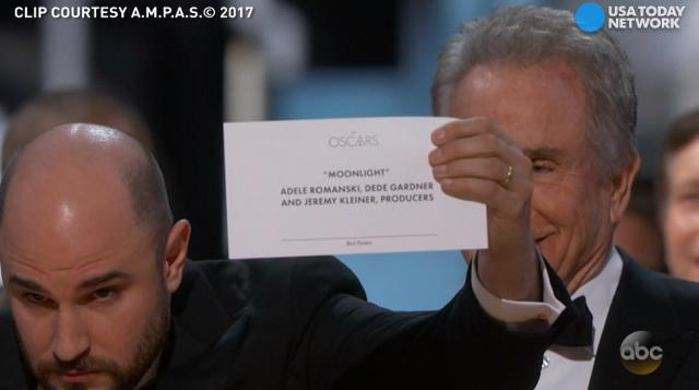 In rather dramatic fashion, 'Moonlight' was crowned Best Picture at the 2017 Oscars. 'La La Land' was originally announced the winner.