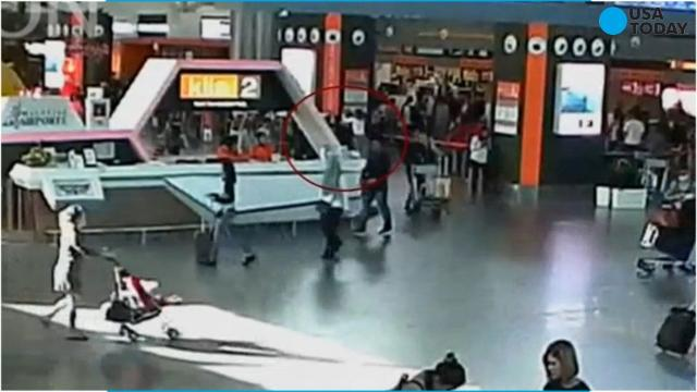Footage appears to show Kim Jong Nam's assassination