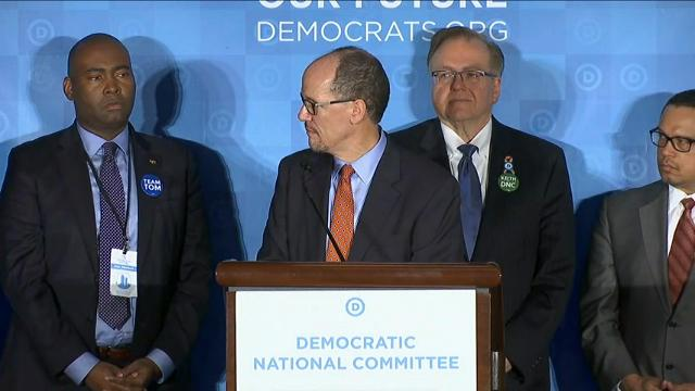 Democrats elected former Labor Secretary Tom Perez as their new national chairman on Saturday over Rep. Keith Ellison, a liberal Minnesota congressman, after a divisive campaign that reflected the depths of the party's electoral failures. (Feb. 25)