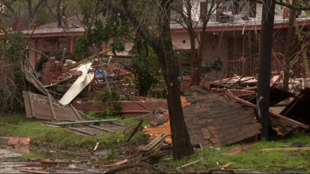 At least two tornadoes have hit parts of San Antonio, damaging dozens of homes but causing no major injuries. A National Weather Service survey team confirmed that a tornado struck a residential area about 5 miles north of downtown. (Feb. 20)