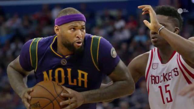 DeMarcus Cousins made his anticipated debut with the Pelicans, sending Twitter abuzz despite a lopsided loss.
