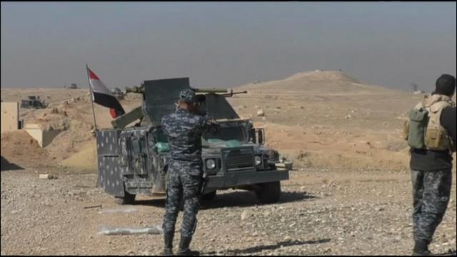 Raw: Iraqi Army's Move on Mosul Continues