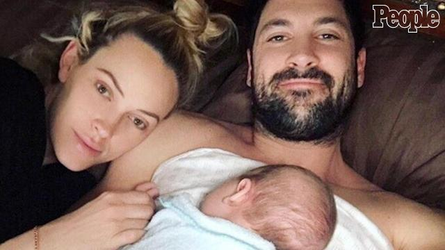 Maksim Chmerkovskiy and Peta Murgatroyd may be king and queen of the dance floor, but the love birds say they don't want their son, Shai Aleksander, following in their footsteps