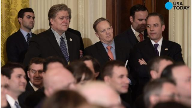 According to analysis done by USA TODAY, the number of female White House aides in Trump's administration is shaping out to be smaller than at least five of the last six presidential terms.