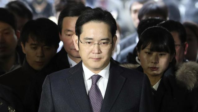 Samsung's Lee charged with bribery and corruption