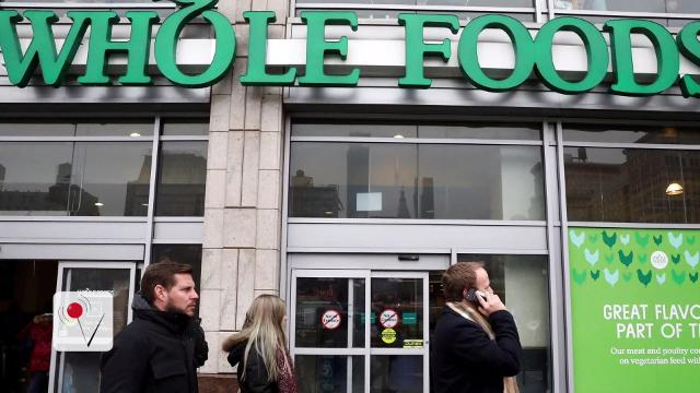 Whole Foods closing stores amid falling sales