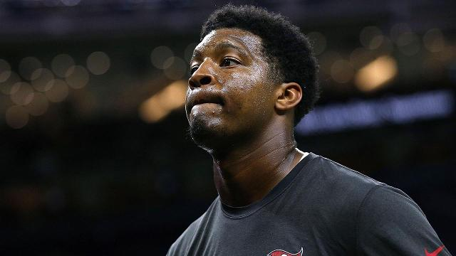 """Tampa Bay Buccaneers quarterback Jameis Winston says he made a """"poor word choice"""" when making comments at an area elementary school."""