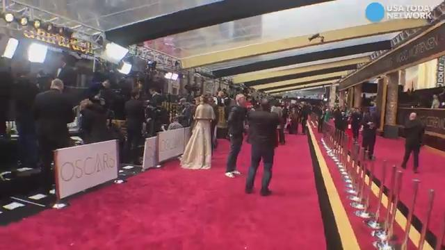 Walk down the Oscars red carpet in 60 seconds