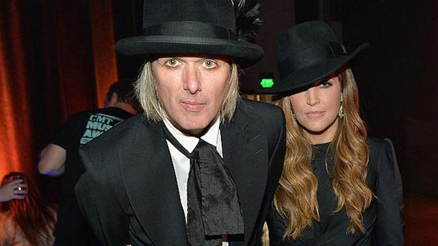Lisa Marie Presley's twin daughters are in the custody of child protective services in California after disturbing photos of children were allegedly found on a computer belonging to Presley's estranged husband and the twins' fatherMichael Lockwood
