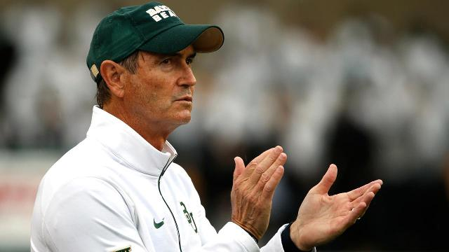 Former football coach Art Briles has dropped his libel lawsuit against Baylor officials in an effort to further distance himself from the school.
