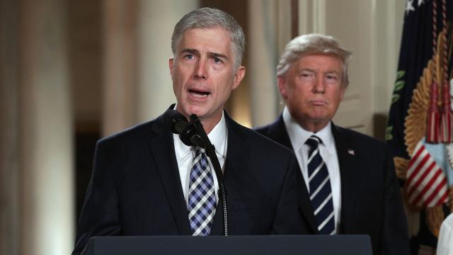 SCOTUS nominee Gorsuch criticizes Trump's anti-judge tweets