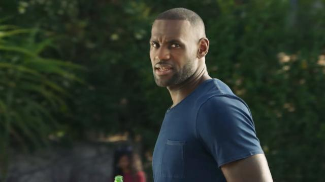 LeBron James wants you to drink Sprite, even if he won't say so.