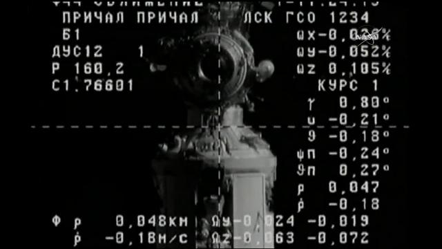 The Progress 66 Russian cargo spacecraft docked with the International Space Station early Friday morning. It's the second cargo spacecraft to dock with the space station in about 24 hours. (Feb. 24)