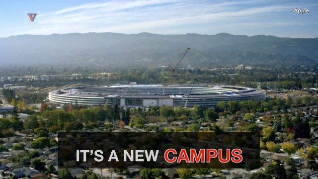 Apple has released more details about its new campus and announced when it will open.