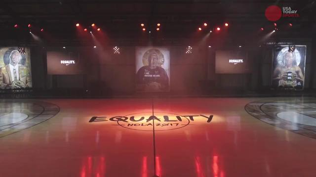 A photo from Nike's Studio Be for EQUALITY in New Orleans.