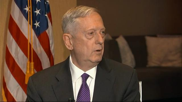 Secretary of Defense Jim Mattis says he is working to get his 'feet on the deck' in terms of getting current to the ongoing situation in Afghanistan. (Feb. 19)