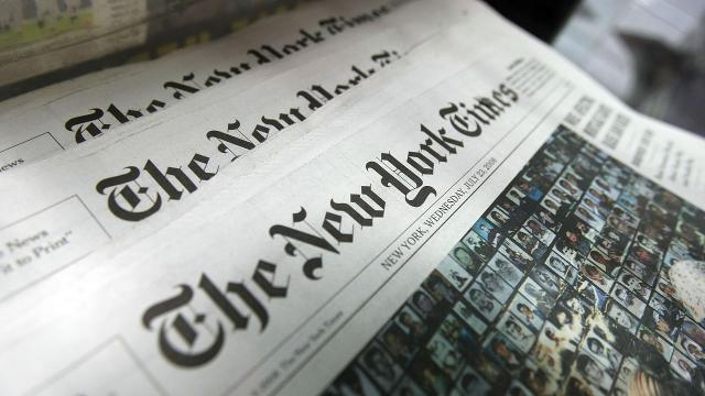 The Washington Post and The New York Times are tweaking their marketing in the wake of Trump's attacks on the media. Video provided by Newsy