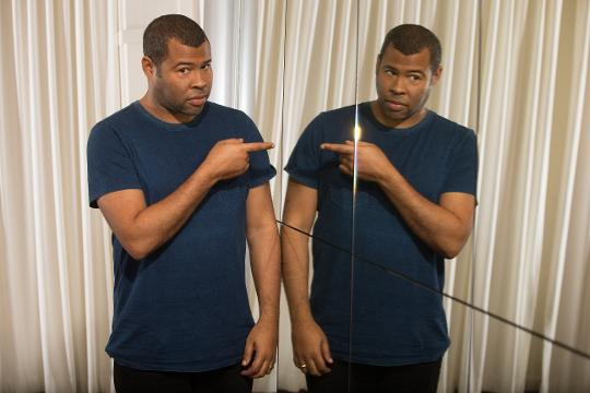 'Get Out' director and comedian Jordan Peele's discusses being an expecting father and a horror-movie fan.