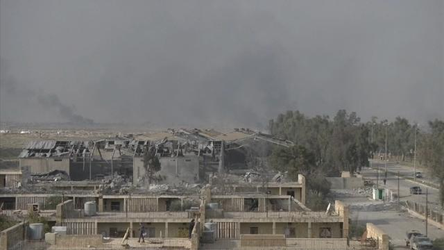 Raw: Forces Push Deeper in Battle for Mosul