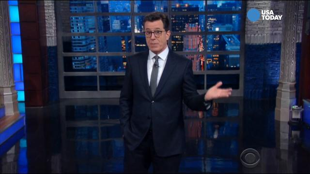 The late-night comics on the latest from the Trump administration. Take a look at our favorite jokes, then vote for yours at opinion.usatoday.com.