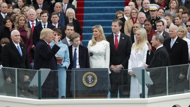 A month into the presidency, the Trump family's travel has likely already cost taxpayers over $10 million. Video provided by Newsy