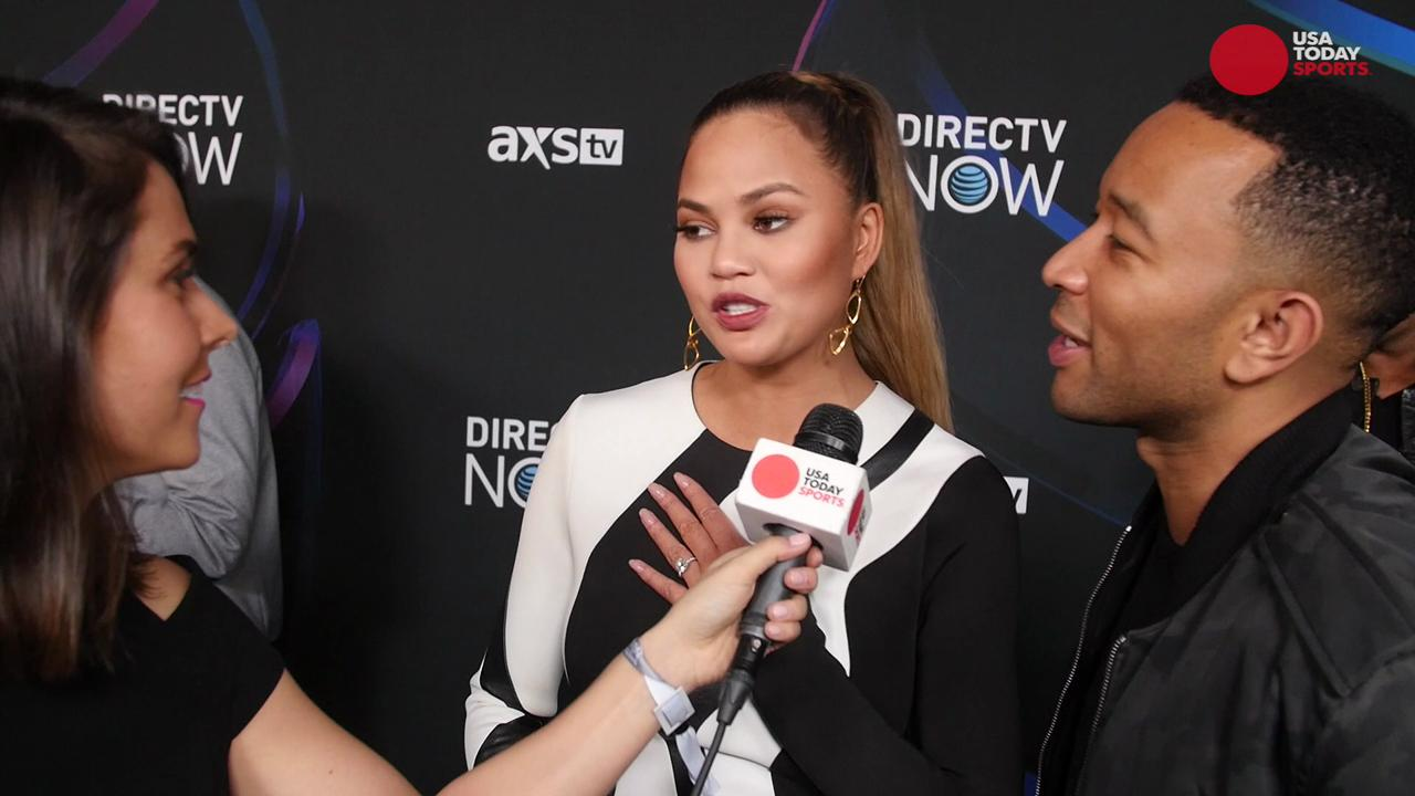 Chrissy Teigen's Hilarious Reaction to Wardrobe Malfunction