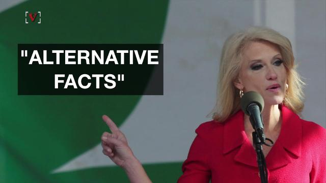 """Merriam-Webster continues to troll the Trump administration. The latest target is counselor to the president Kellyanne Conway's definition of """"feminism."""" Veuer's Elizabeth Keatinge (@elizkeatinge) has more."""