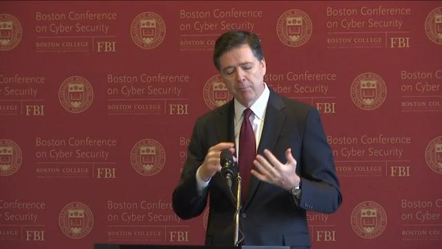 Comey: Cyber threats against U.S. are 'enormous'