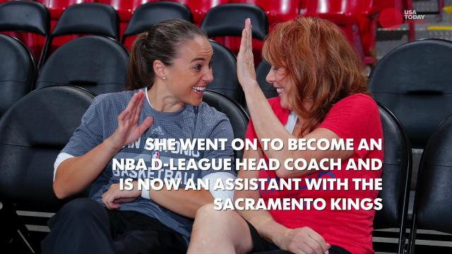Who might be the first female head coach in the NBA?