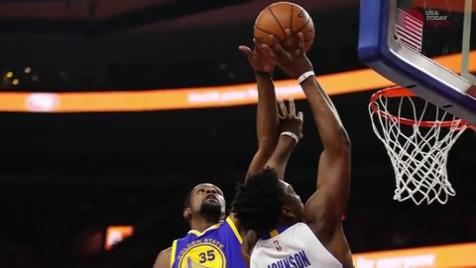 Warriors lose more than offense without Durant