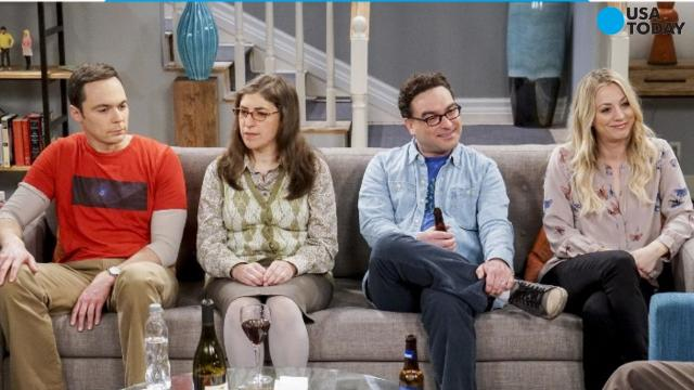 Sheldon (Jim Parsons), left, and Leonard (Johnny Galecki)