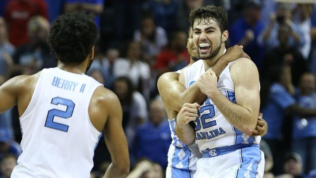 North Carolina wins instant classic to reach Final Four