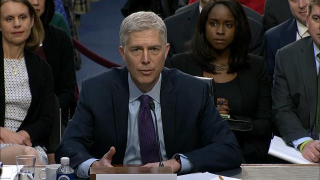 Gorsuch Says He's Made No Promises for Rulings