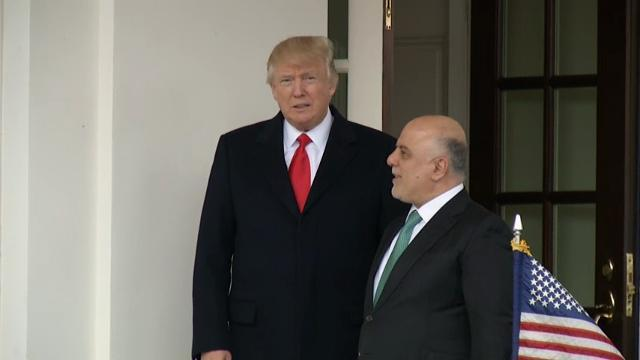 Trump Meets With Iraq's Prime Minister
